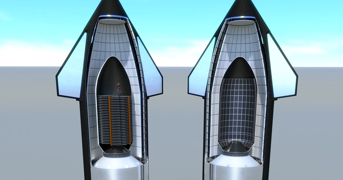 SpaceX Starship: incredible Falcon 9 comparison shows why fans are excited