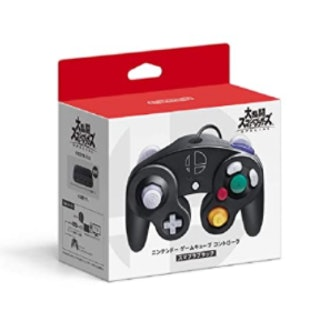 Nintendo Game Cube Controller Super Smash Bros. Black Japan Import