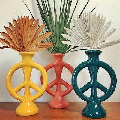 Peace Vase By Justina Blakeney