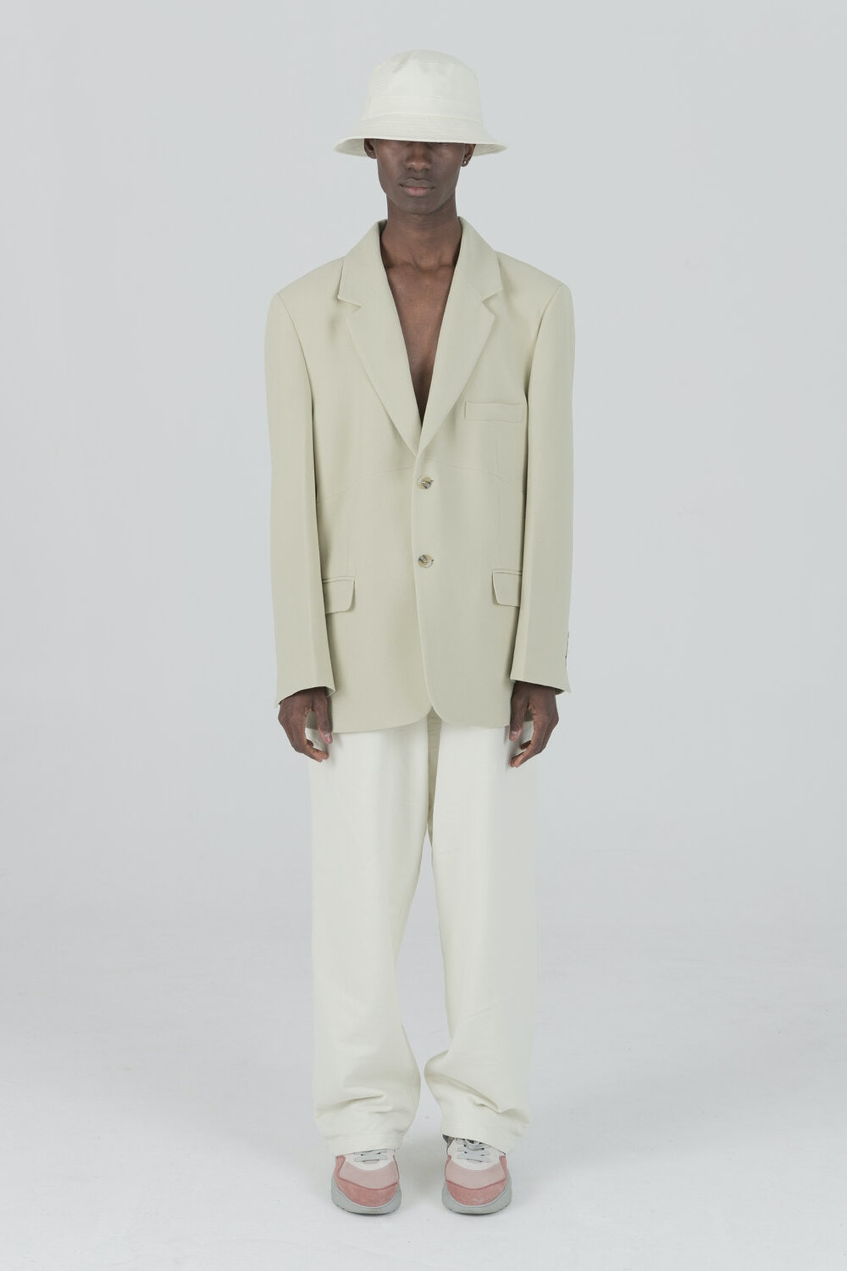 Pistachio Suit Blazer