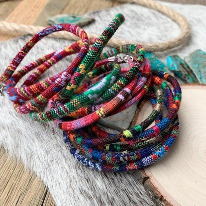 Boho Wrap Bracelet Set of 3