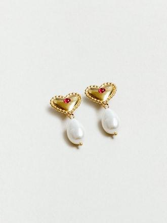 Katalina Earrings in Gold