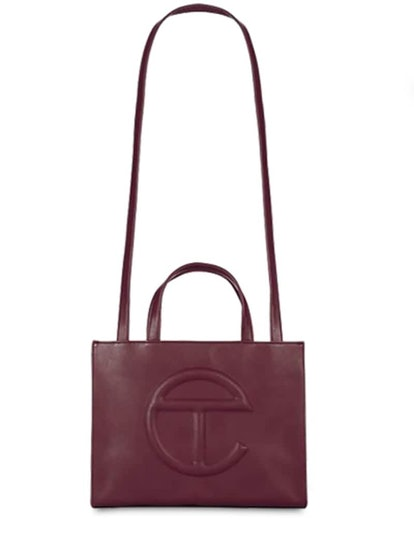 Medium Embossed Logo Shopper Tote Bag
