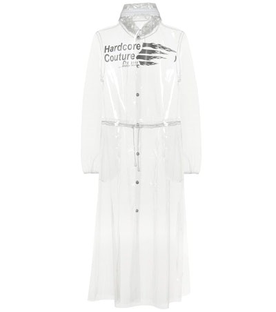 Transparent PU Raincoat