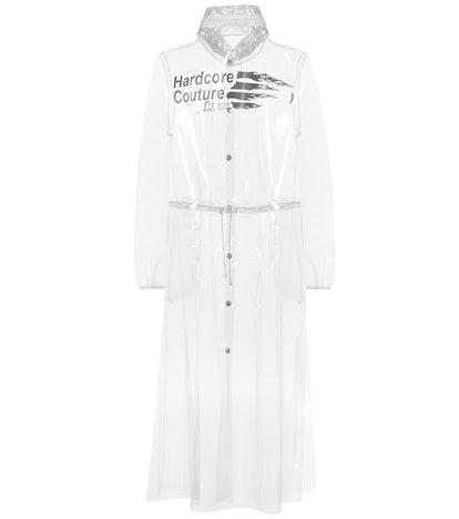 Transparent PU Raincoat
