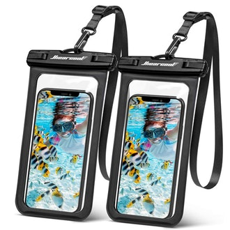 Hiearcool Universal Waterproof Phone Case (2-Pack)