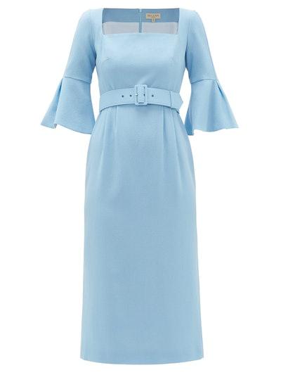 Camellia Belted Dress