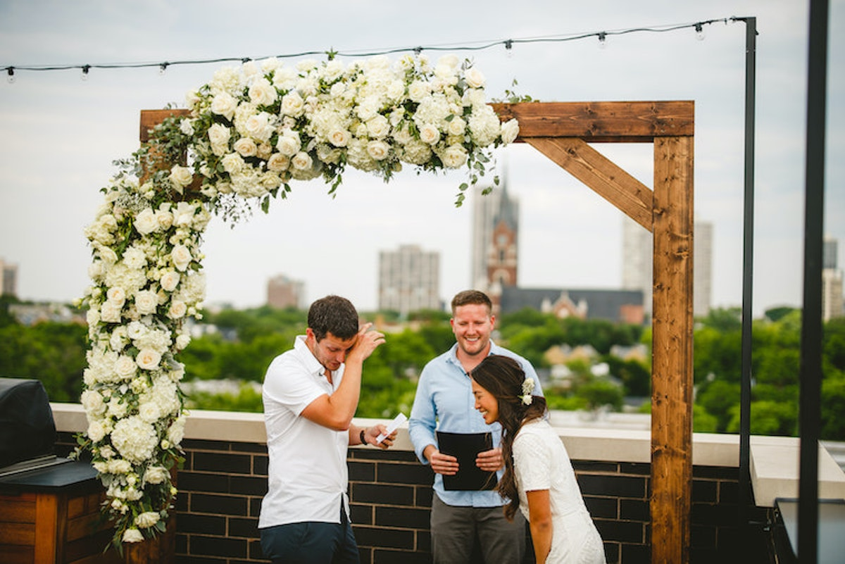 These quarantine wedding stories prove that love is unstoppable.