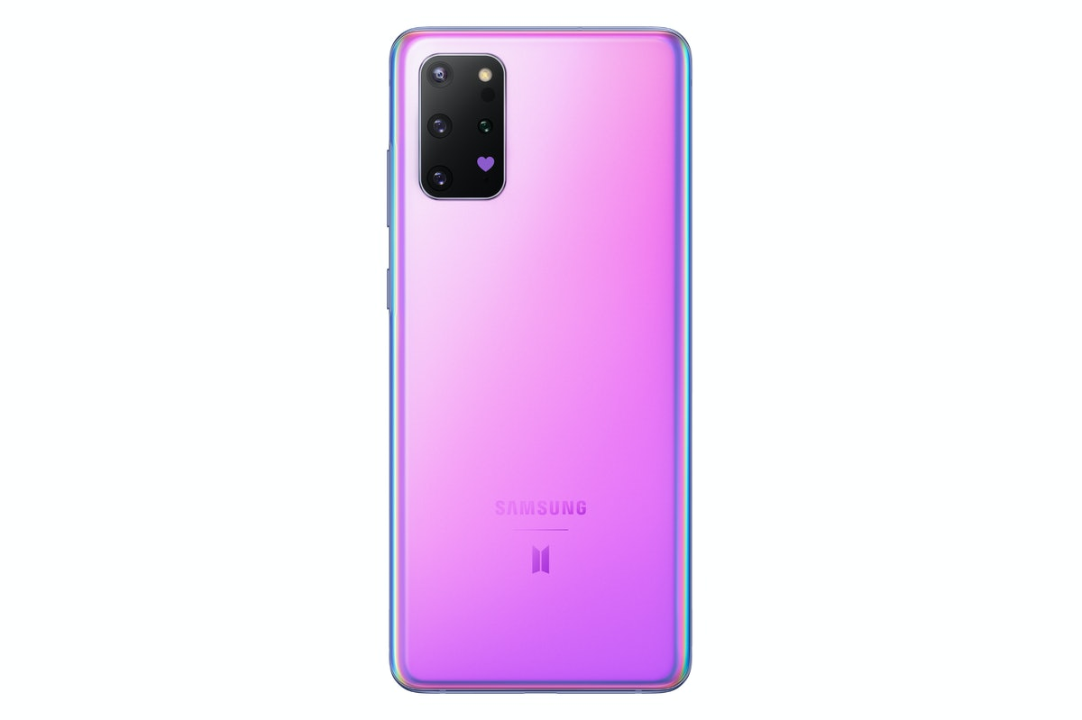 BTS Galaxy S20+ Phone