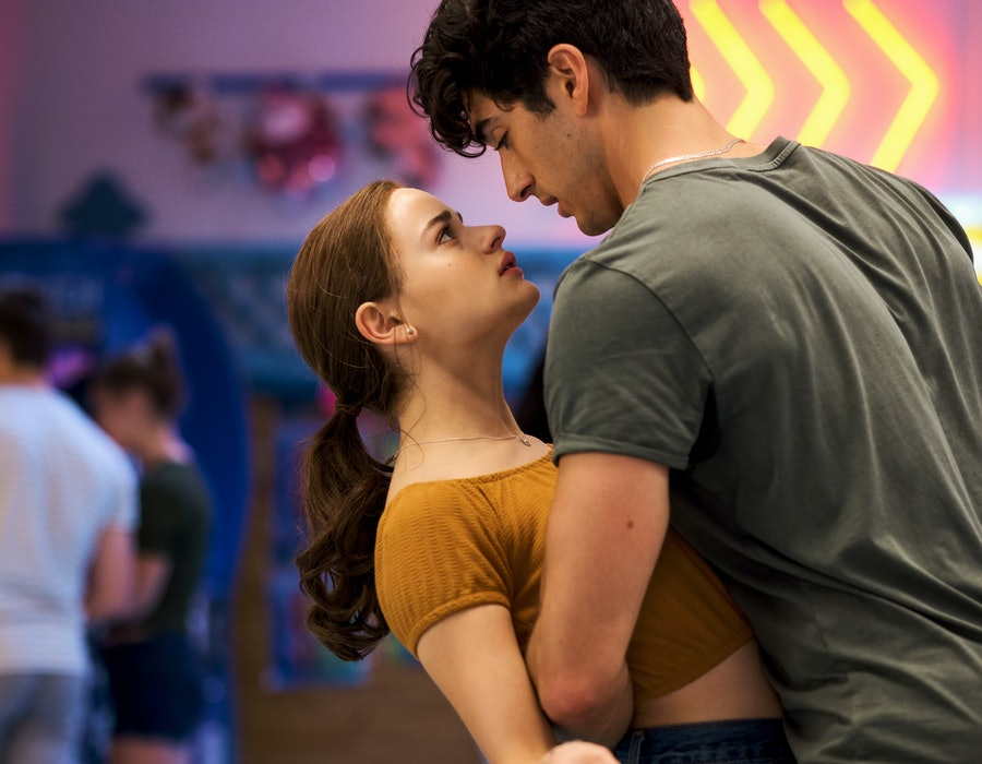 Joey King and Taylor Perez in 'The Kissing Booth 2' (via Netflix press site)