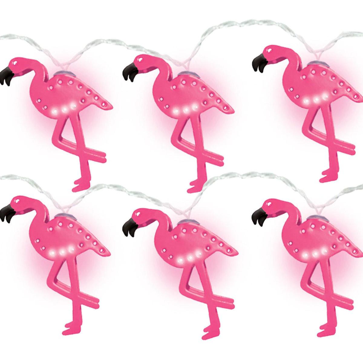 Flamingo LED String Lights