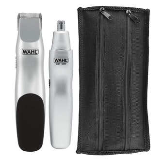 Wahl Groomsman Battery Powered Beard, Mustache, Hair & Nose Hair Trimmer