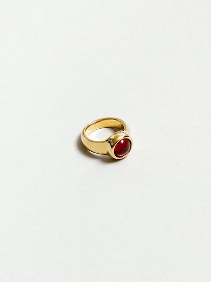 Magda Ring in Ruby