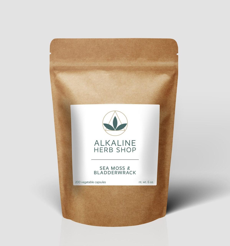 Sea Moss Bladderwrack Supplement