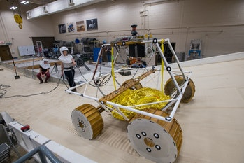 NASA's newest rover, the VIPER, is currently being tested. It's expected to launch in 2022.