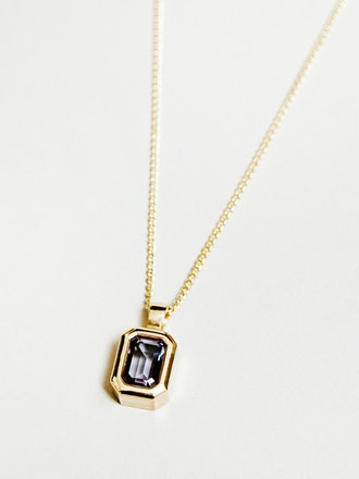 Penelope Necklace in Alexandrite and Gold