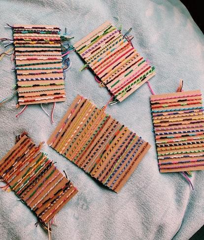 Custom Candy Stripe Friendship Bracelets and Anklets