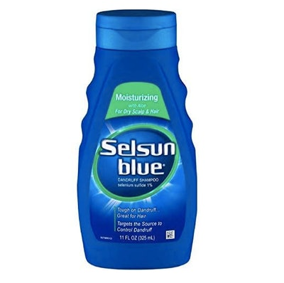 Selsun Blue Moisturizing with Aloe Dandruff Shampoo