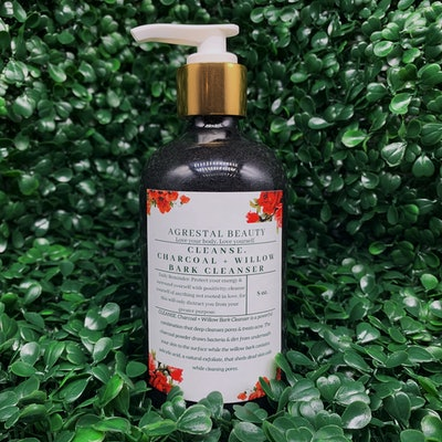 CLEANSE. Charcoal + Willow Bark Cleanser