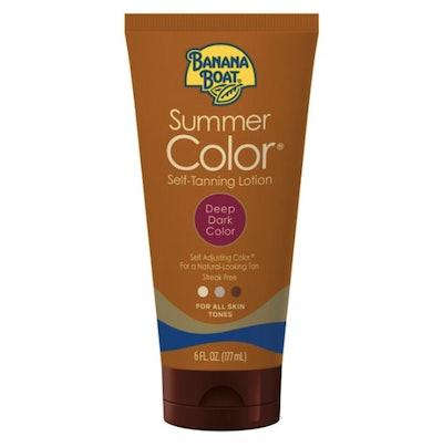 Summer Color Self-Tanning Lotion, Deep/Dark
