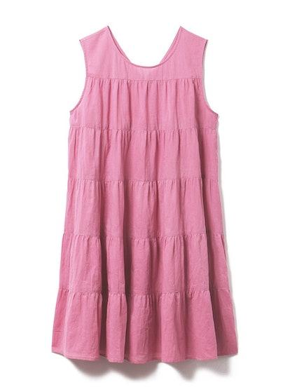 Resort Gauze Tiered Mini Dress