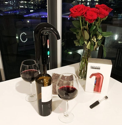 Inovare Designs Electric Wine Aerator