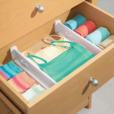 mDesign Expandable Drawer Organizers (4-Pack)