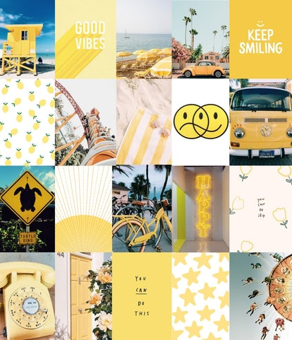These Summer Wall Collage Kits On Etsy Will Give Your Room A Fun Update