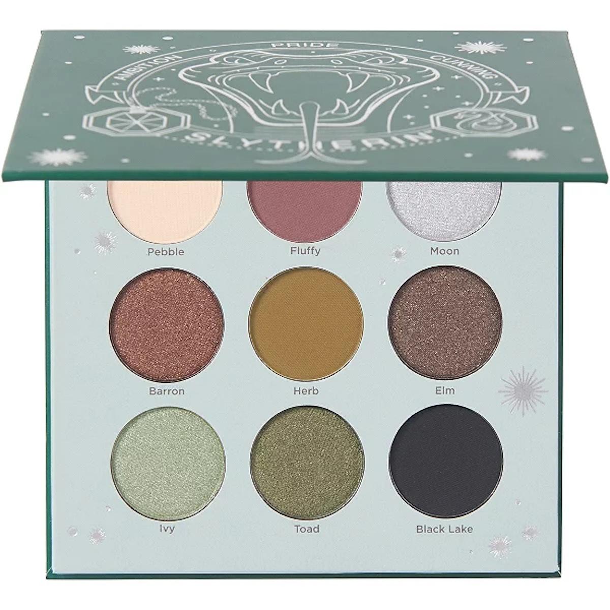 Harry Potter X Ulta Beauty Slytherin Eye Shadow Palette