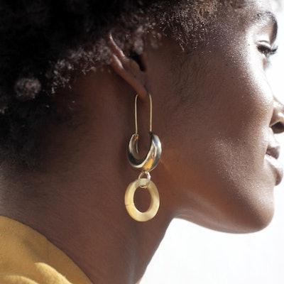Lua Horn earrings