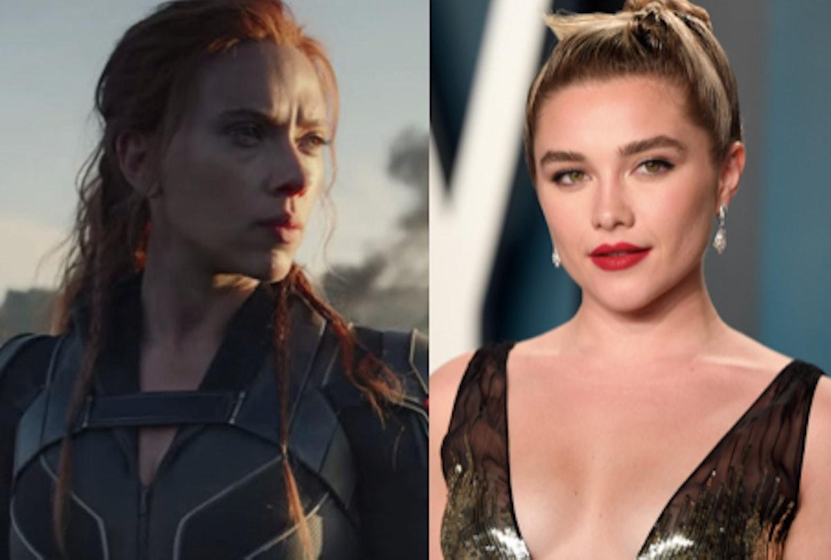 Scarlett Johansson in 'Black Widow' and Florence Pugh