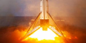 SpaceX Falcon 9: stunning images give razor-sharp view of droneship landing