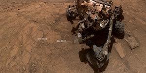 On Mars, the NASA Curiosity rover begins a new era of exploration