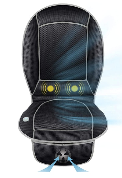 Comfier Cooling Seat Cushion With Lower Back Massage