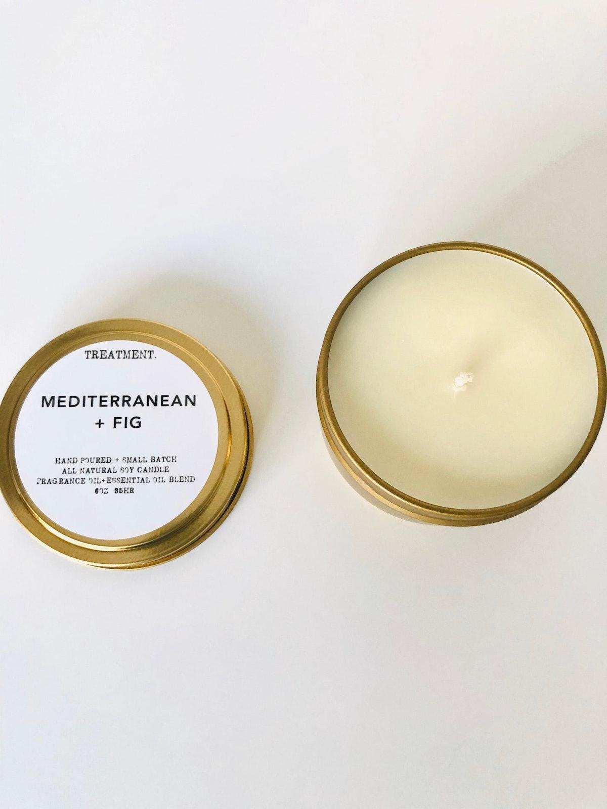 Mediterranean Fig Soy Candle