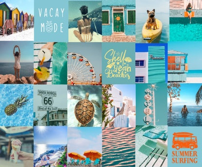 Summer Vacay Digital Collage Kit