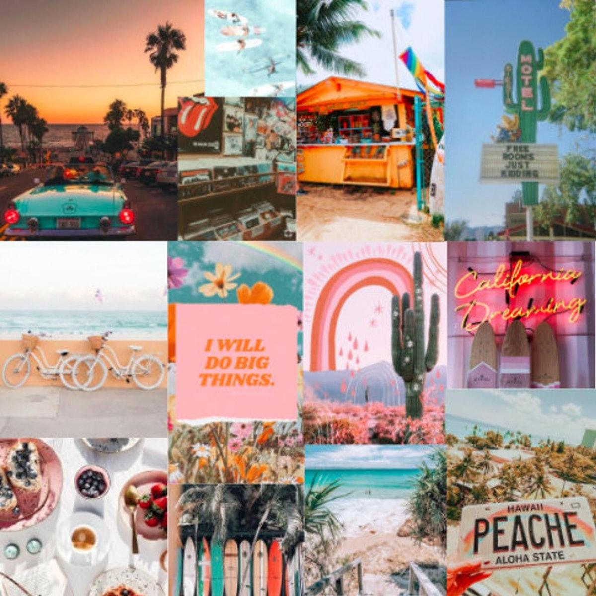 196 Prints - Summer Vibe Collage Kit
