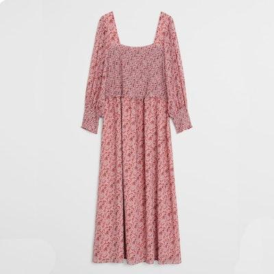 Violeta Plus Size Midi Floral Dress