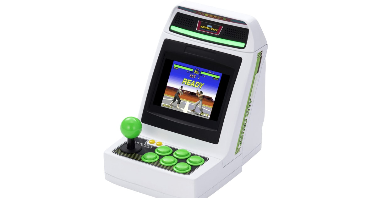 Sega's Astro City Mini is a tiny version of the classic arcade cabinet