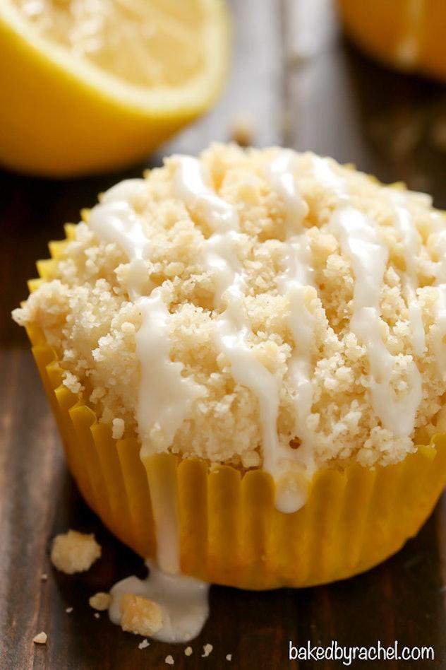 Lemon Crumb Muffins are a delightful summer breakfast idea.