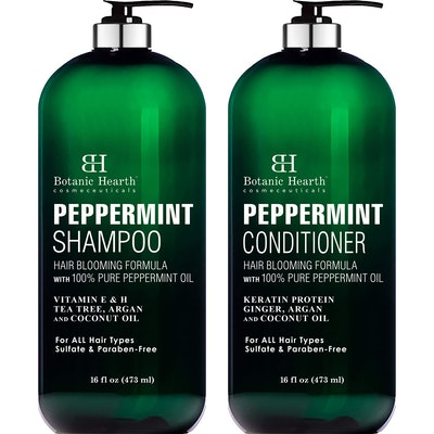 Botanic Hearth Peppermint Shampoo and Conditioner Set