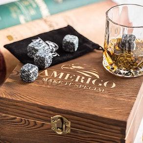 Amerigo Whiskey Stones Gift Set