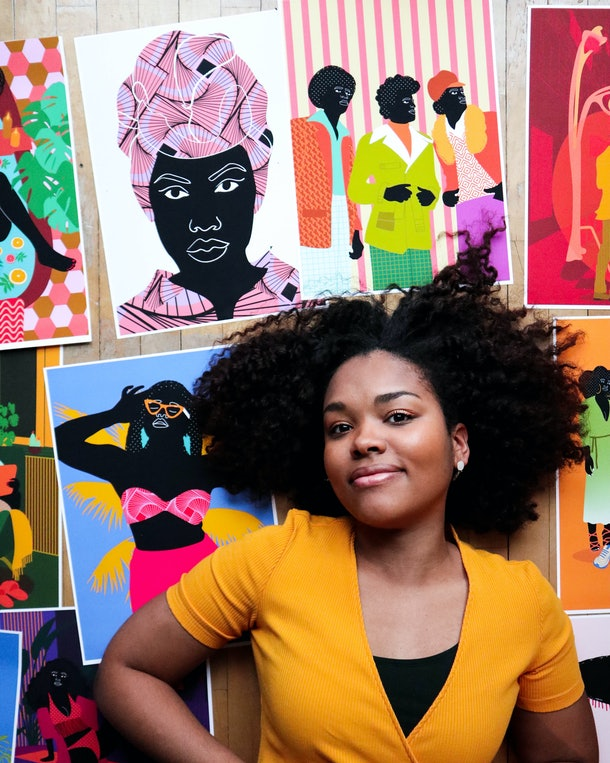 Aurélia Durand illustrated the 'New York Times' bestseller 'This Books Is Anti-Racist' by Tiffany Jewel.