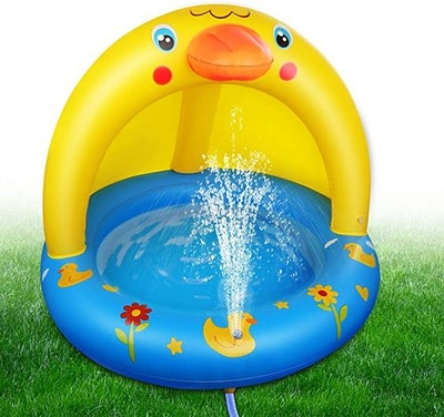 Inflatable Duck Pool