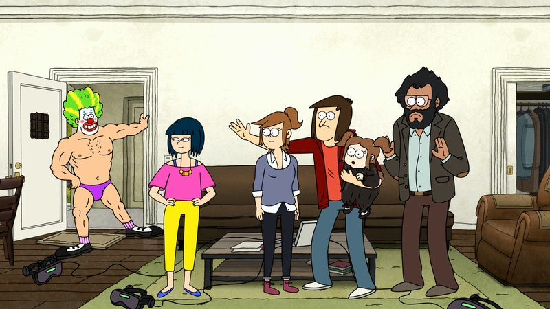 Characters from 'Close Enough' via the Warner Media press site
