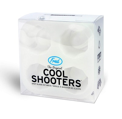 Fred & Friends Cool Shooters Shot Glass Mold