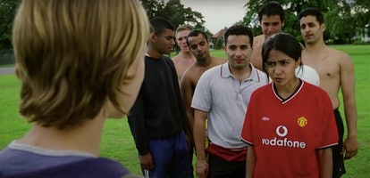 Parminder Nagra in 'Bend It Like Beckham,' one of the many early 2000s movies about teen girls.