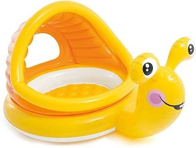 Intex - Lazy Snail Shade Baby Pool