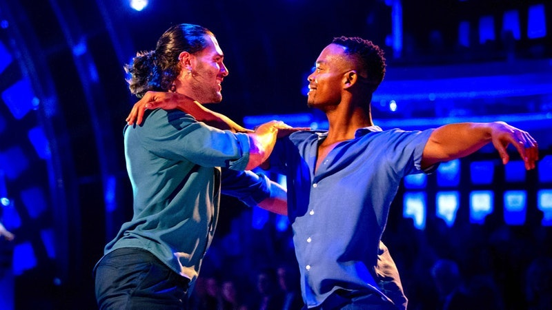 Johannes Radebe & Graziano Di Prima were the first same-sex pair to perform a full routine on 'Strictly Come Dancing'.