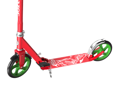 Razor's new line of scooters includes a design collaboration with Sriracha.
